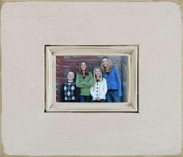8.5 X 11 Barnwood Bristol Antique Wood Picture Frame - Shop - Rustic Wooden