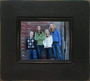 9 X 12 Barnwood Bristol Antique Wood Picture Frame - Shop - Rustic Wooden