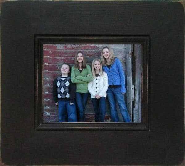 24 X 36 Barnwood Bristol Antique Wood Picture Frame - Shop - Rustic Wooden