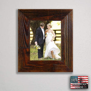 3 Inch Rustic 8 x 12 Carson City Finished Barnwood Frame - Picture - Shop - Wooden