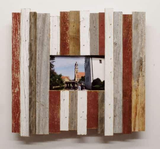 8 x 10 Rustic Reclaimed Beachcomber Barn Wood Frame - Picture - Shop - Wooden
