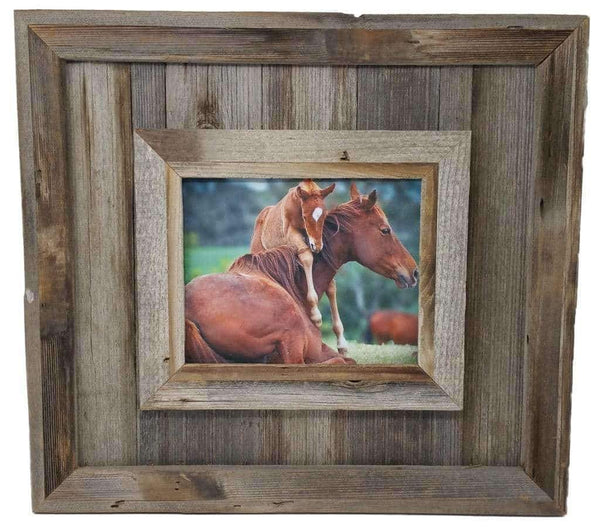 Cheyenne 12x12 Frame - Picture - Shop - Rustic Wooden