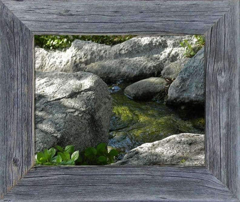 2 Wide Narrow Barnwood Frame 24 x 36 - Picture - Shop - Rustic Wooden