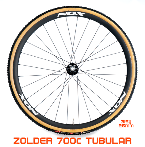 NOX Composites Zolder Tubular Disc Wheels