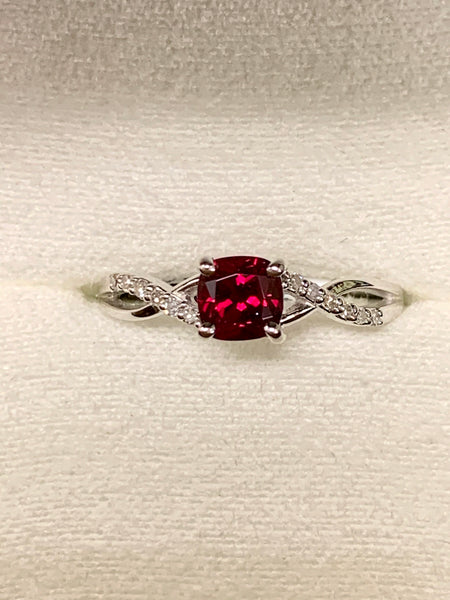 Garnet Birthstone Ring