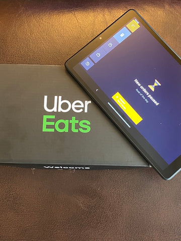Uber eats tablet
