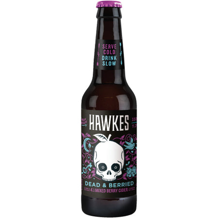Hawkes - Dead & Berried Cider - 4% ABV 500ml bottle