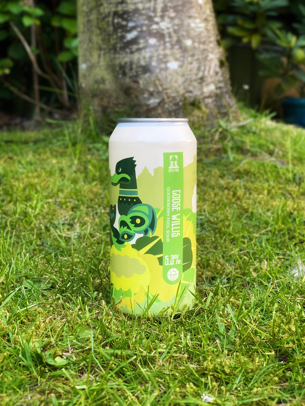 Brew York - Goose Willis 5.3% Sour- 440ml cans.