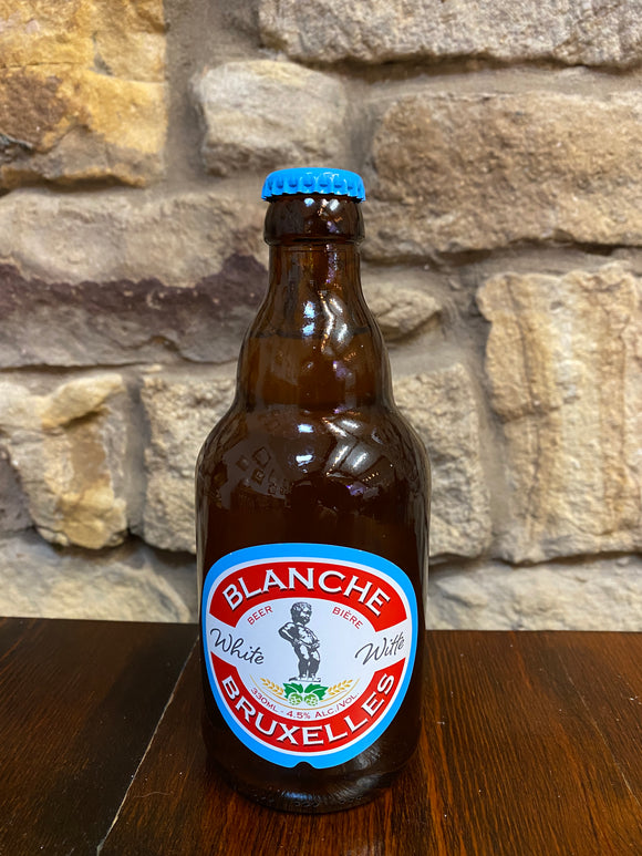 Lefebvre - Blanche de Bruxelles - 4.5% Wheat beer 330ml bottle.
