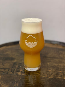 Cloudwater glass.