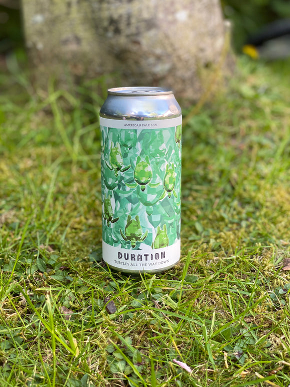 Duration - Turtles All the Way Down - 5.5% Pale ale 440ml can.