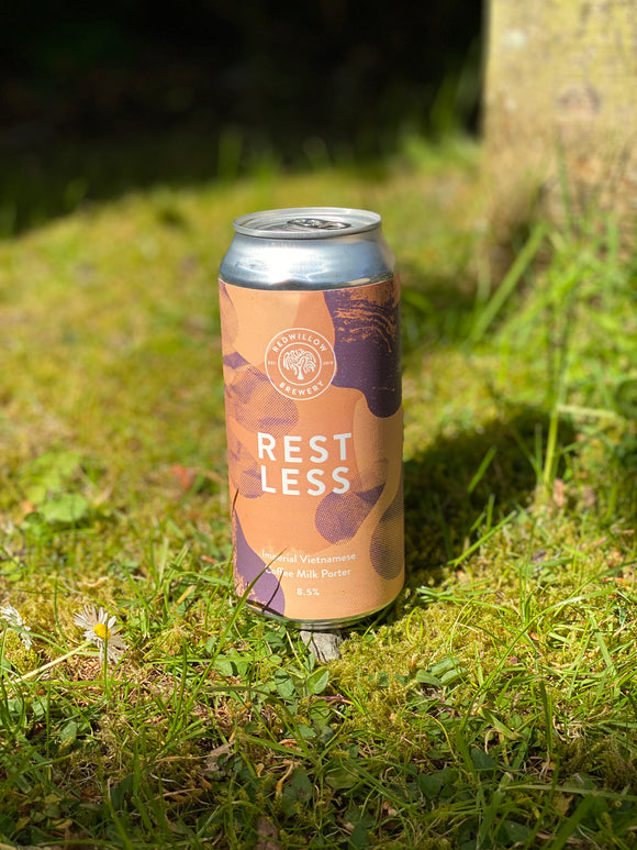 Redwillow - Restless - 8.5% Porter 440ml can.