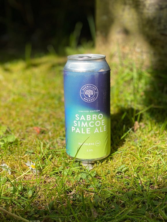 Redwillow - F134 Sabro Simcoe Pale Ale - 3.9% Pale Ale 440ml can.