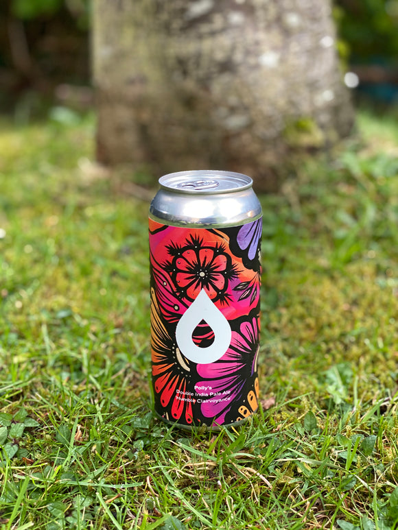 Polly's - Humble Clairvoyance - 8.5% DIPA 440ml can.