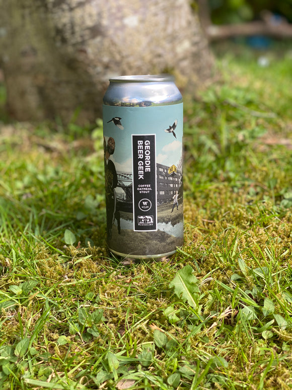 Wylam - Geordie Beer Geek Mikkeller collab - 7.5% Coffee Oatmeal stout 440ml can.