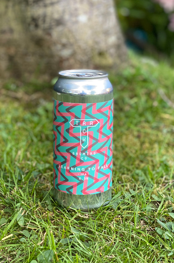 Track - Learning to Fall - 6.5% New England IPA 440ml can.