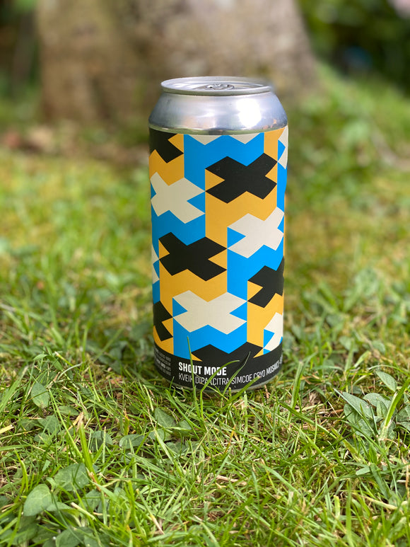 Howling Hops - Shout Mode - 8% DIPA 440ml can.