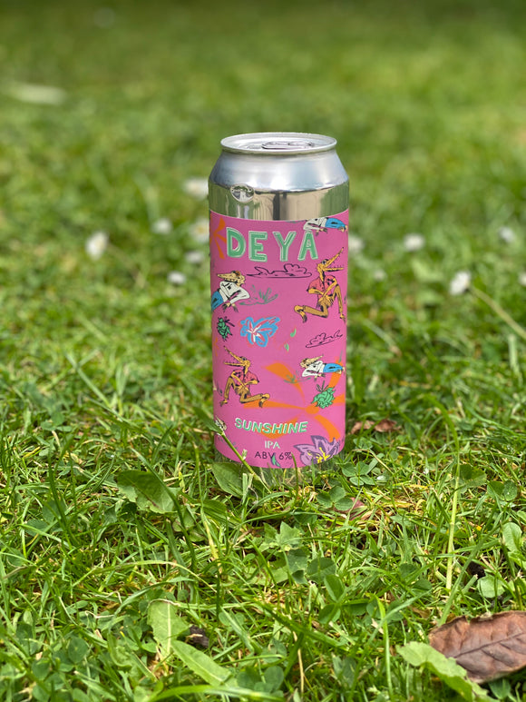 Deya - Sunshine - 6% NEIPA 500ml can.
