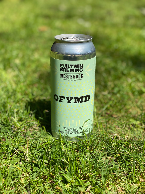 Evil Twin x Westbrook Brewing - OFYMD - 12.8% stout 473ml can.