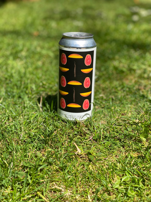 Evil Twin - Not So Dry January Mango Guava Bodega Smoothie - 7.5% Sour IPA 473ml can.