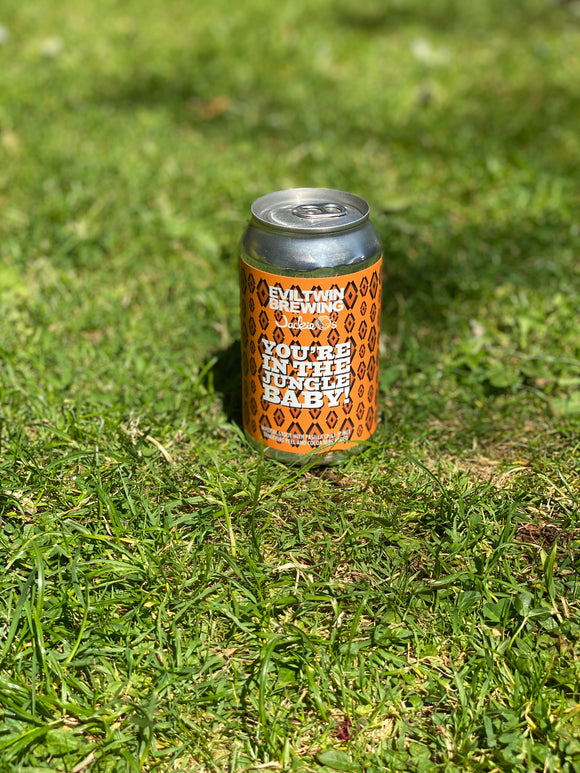 Evil Twin - You're In the Jungle Baby! - 12% chilli stout 355ml can.