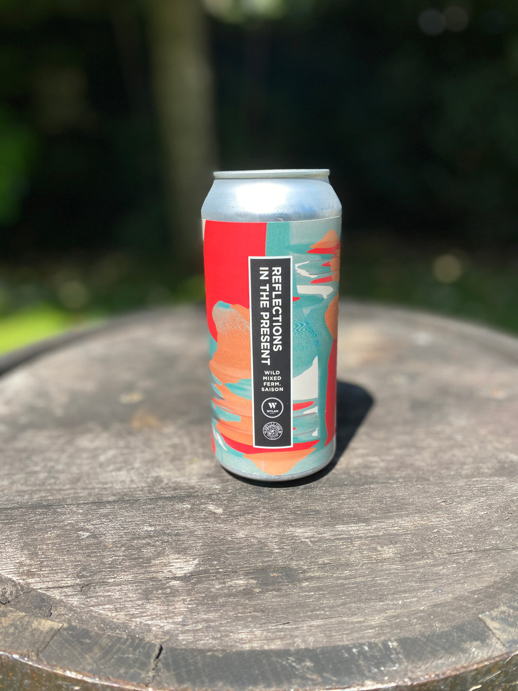 Wylam - Reflections in the Present - 4.9% mixed ferm saison 440ml can
