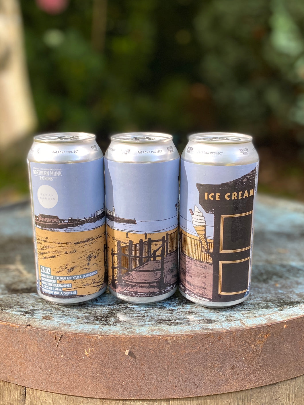 Northern Monk - Patrons Project 26.02 // Sarah Harris // Culinary Adventures Scarborough // Northern Monk // Double Cone Ice Cream Pale - 8.2% Milkshake IPA 440ml can