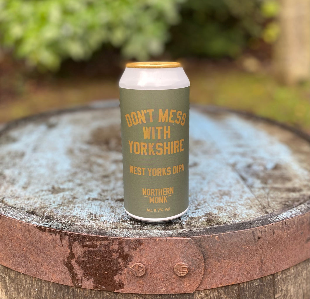 Northern Monk - Don't Mess with Yorkshire, West Yorks DIPA - 8.7% DIPA 440ml can