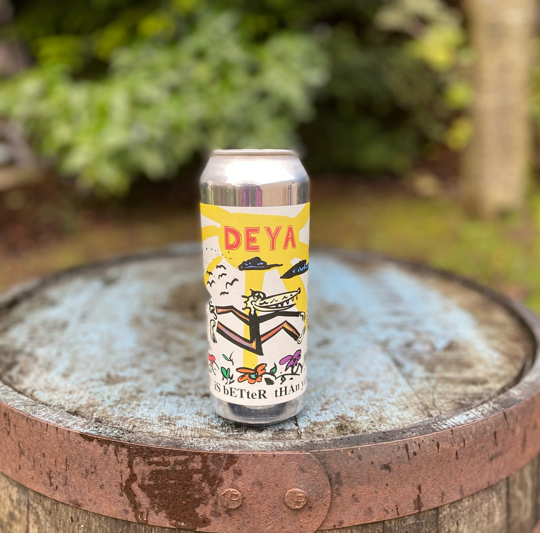 DEYA - Today is Better Than Yesterday - 4% Pale Ale 500ml can