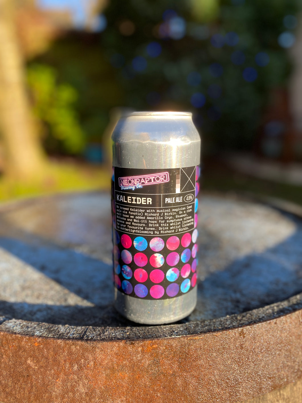 Neon Raptor - Kaleider - 4.8% Pale ale 440ml can