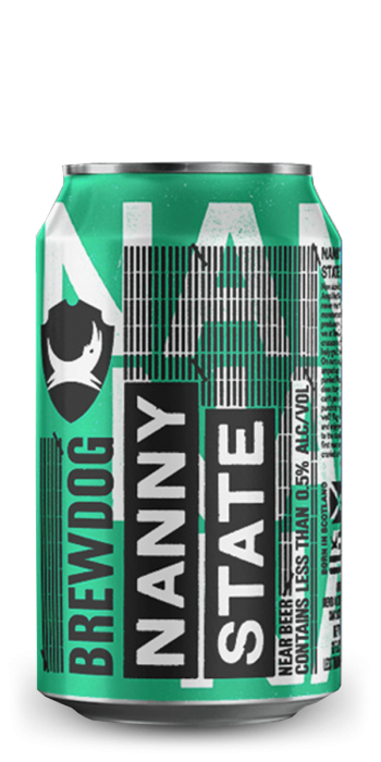 Brewdog - Nanny State - Alcohol Free pale ale - 0.5% 330ml can