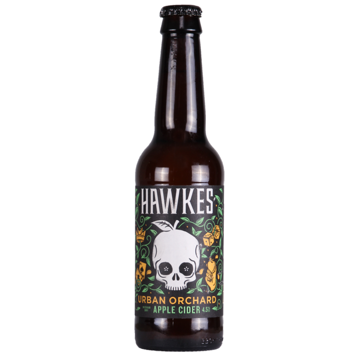 Hawkes -Urban Orchard Cider - 4.5% ABV 500ml bottle