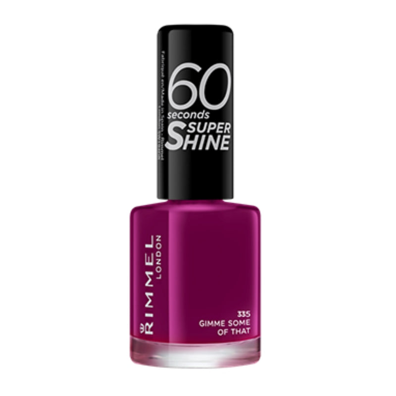 RIMMEL NAILS 60 SEC SUPER SHINE 335 GIMME SOME OF THAT (6919) RIM1364