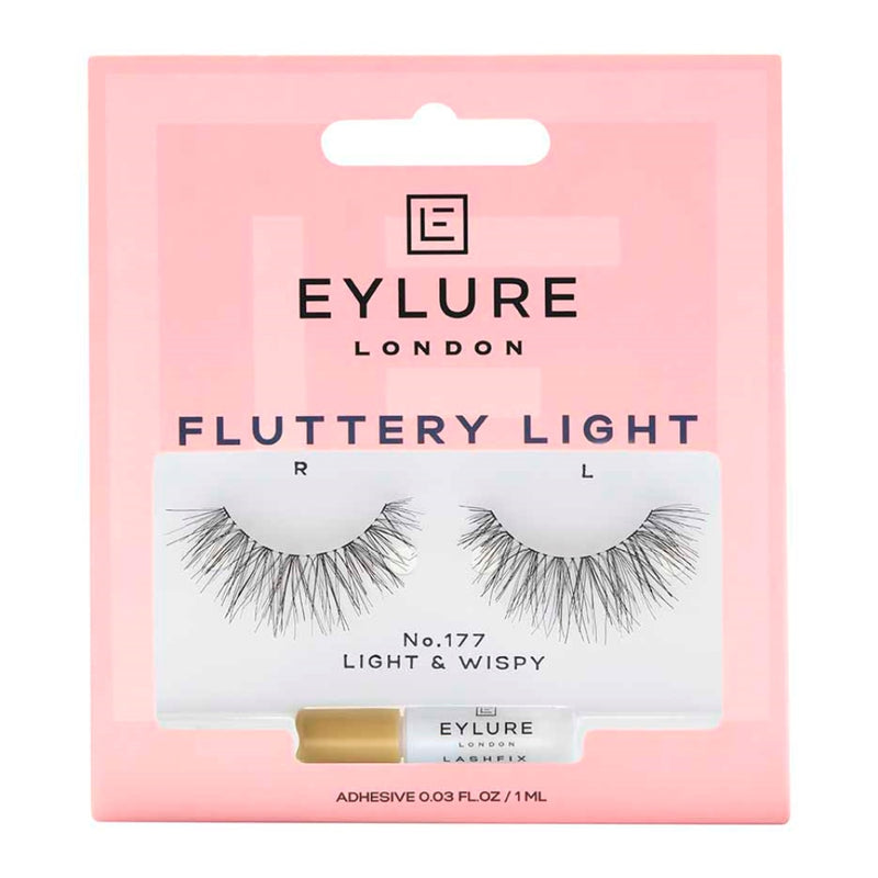 EYLURE FALSE LASHES FLUTTERY LIGHT 177 (2784)