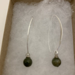 Timeless Tourmaline dangle earings