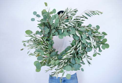 OLIVE + EUC WREATH
