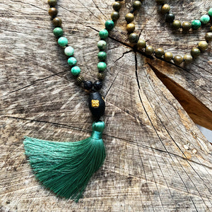 108 Bead Mala Necklace | BENEVOLENCE