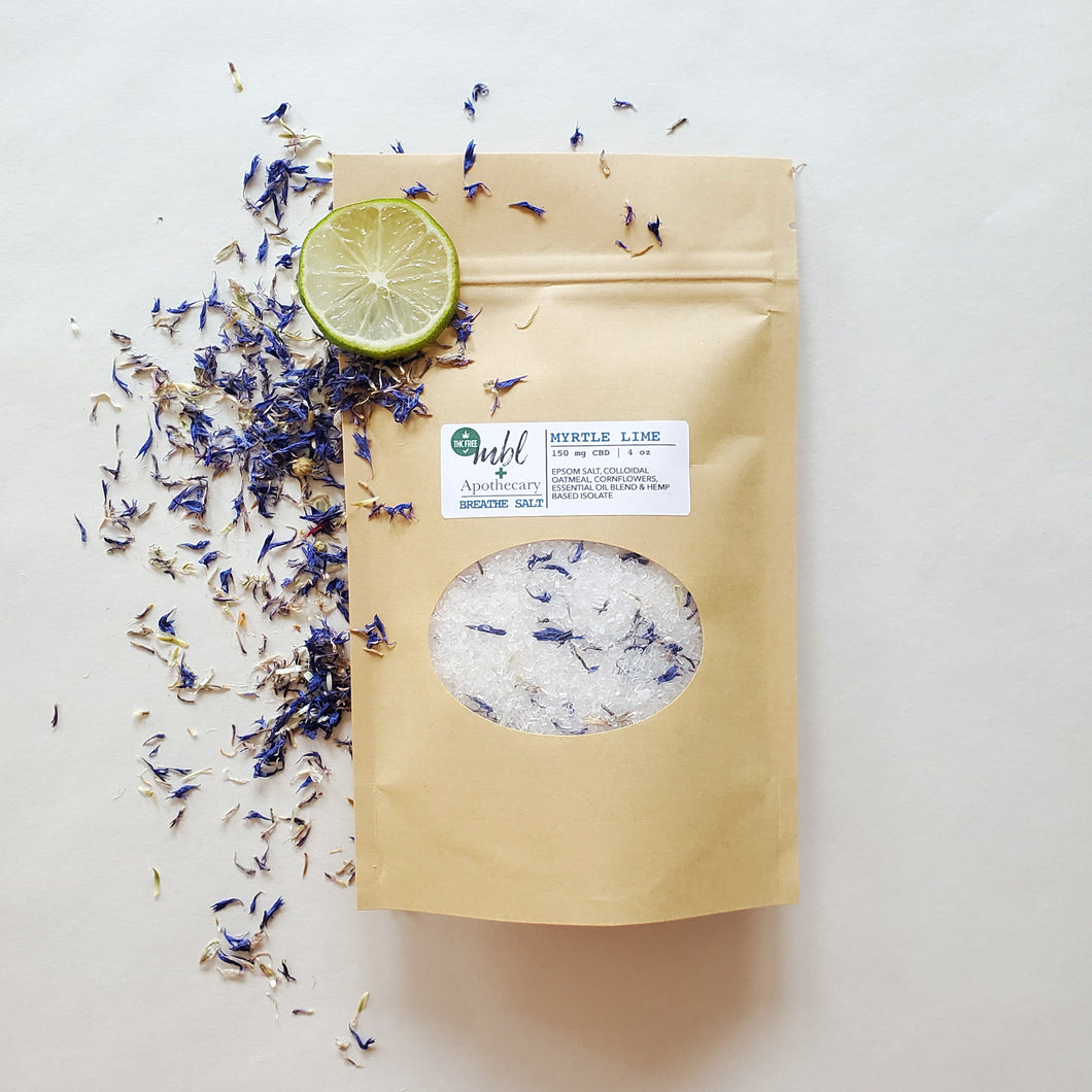 Breathe Salts | Myrtle Lime