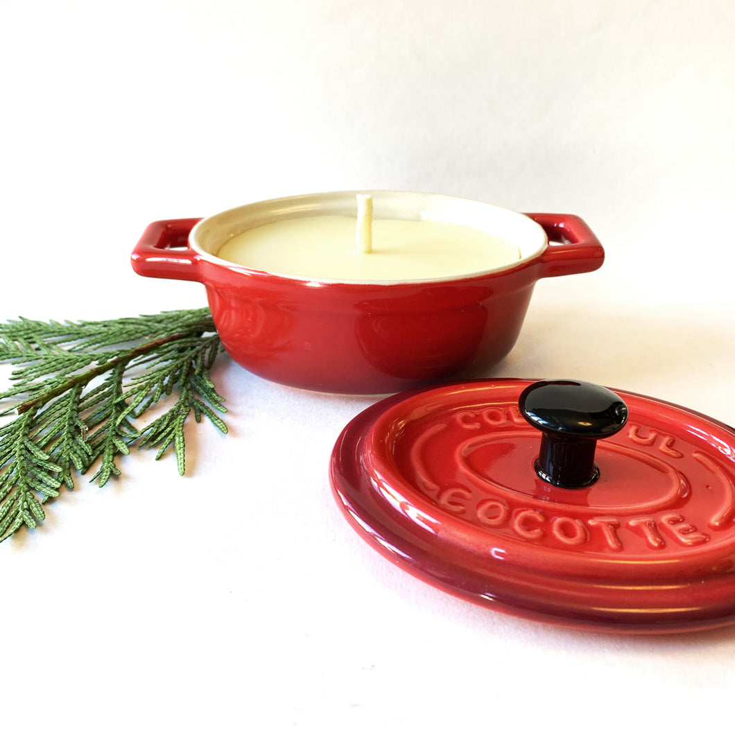 Reclaimed Beeswax Candles | Colorful Cocotte