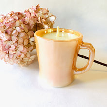 Load image into Gallery viewer, Reclaimed Beeswax Candles | Fire King Mug