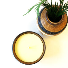 Load image into Gallery viewer, Reclaimed Beeswax Candles | German Pottery