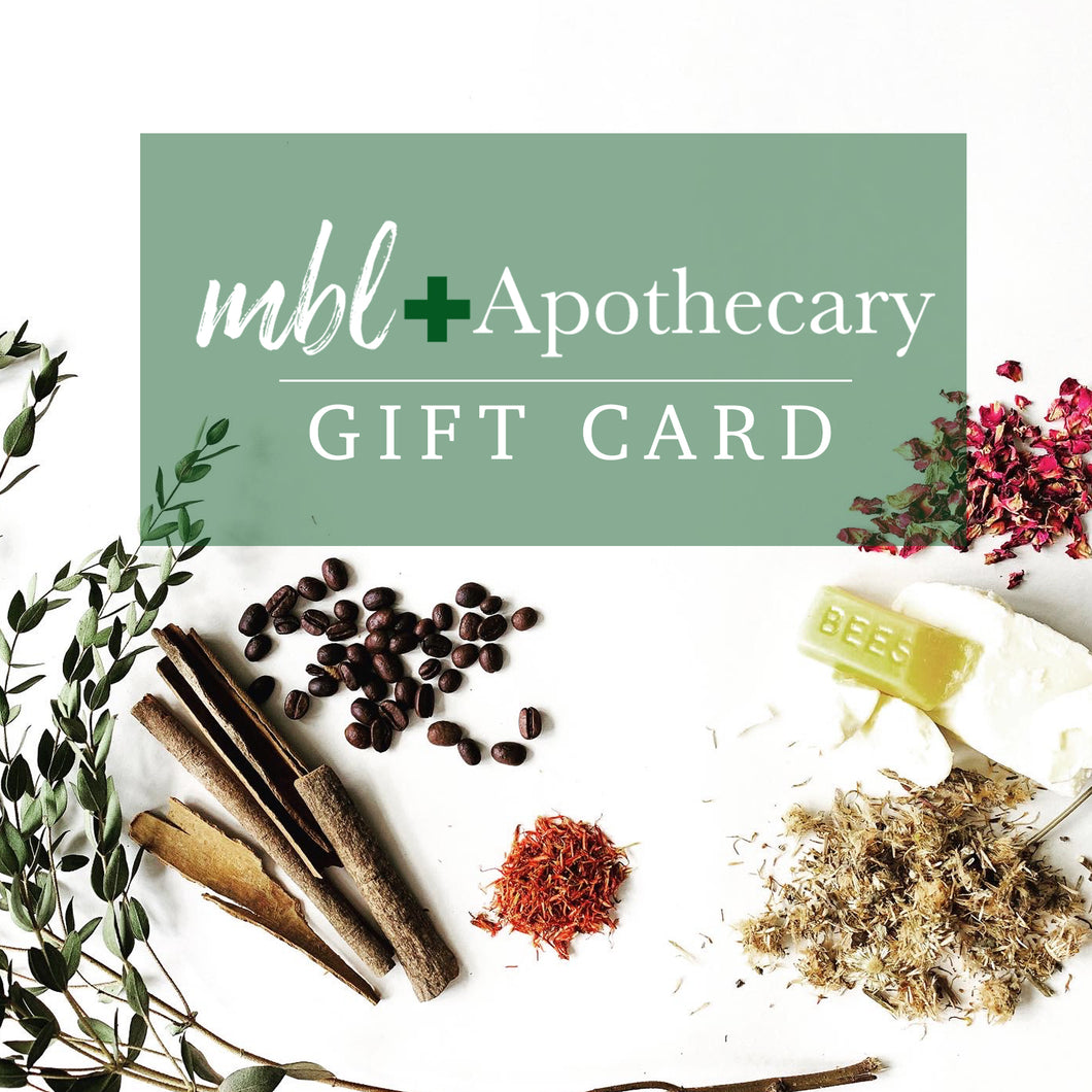MBL Apothecary Gift Card