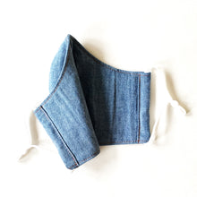 Load image into Gallery viewer, Face Masks | Denim-Look Chambray