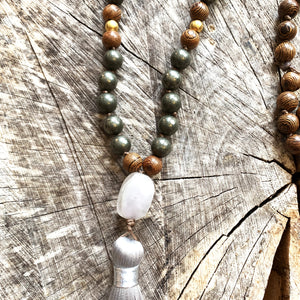 108 Bead Mala Necklace | ABUNDANCE