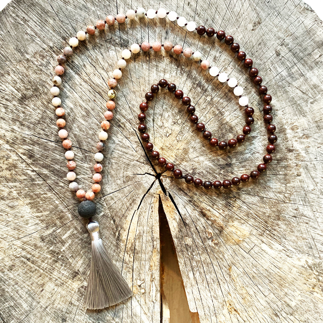 108 Bead Mala Necklace | CHANGE