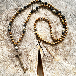108 Bead Mala Necklace | FREEDOM