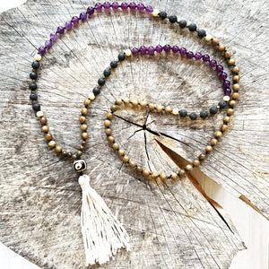 108 Bead Mala Necklace | TRANQUIL