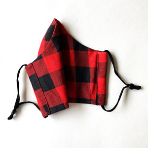 Face Masks | Canadiana Buffalo Plaid