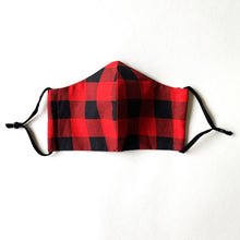 Load image into Gallery viewer, Face Masks | Canadiana Buffalo Plaid
