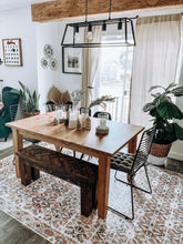 Load image into Gallery viewer, Trendy dining area rug